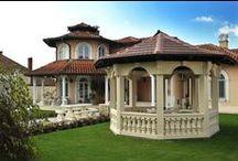Columns and Pavilions / Columns, balcony, garden, interior architecture