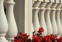 Balustrades (Elementi Architettonici) / Concrete balustrades for balconies and terraces