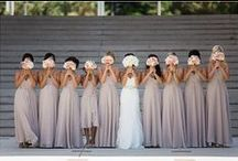 Bridemaids Dresses / The bridesmaids and maid of honor are the second most looked at ladies on the wedding day and should also look radiant. see some ideas here for colours, designs and styles here.