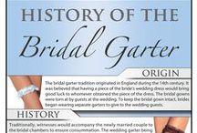 Garters / The best garters for brides.