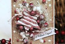 New year and Christmas cards / Зимние открытки
