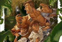PULP! / Cool adventures, daring heroes, weird science, hot dames, tough guys, zeppelins, creepy monsters...