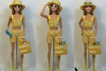 Chrochet  Barbie / hæklet Barbie / Barbie dress chrochet