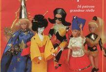 Patternt Barbie/ Opskrifter Barbie