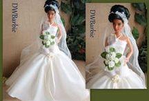 Barbie Wedding dress/ Barbie i brudekjole