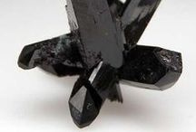Crystals- BLACK / Black, Crystals, Gemstones