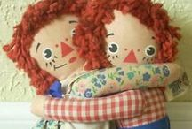 Raggedy Ann & Andy / Raggedy Ann & Andy dolls etc.