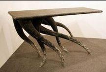 Tables and chairs / by Kees van der Graaf