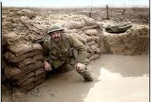 World War I Shots / Pictures pertinent to my novel-in-writing. See my webpage for information on WWI blog posts: http://michelleule.com/oswald-chambersworld-war/ / by Michelle Ule