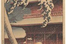 japon ukiyo-e estampes / by thierry PISTRE