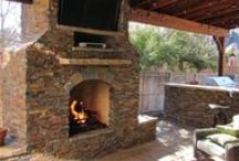 Outdoor Fireplaces / Outdoor Fireplaces in DFW by Texas Best Fence