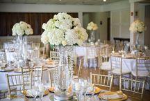 Wedding / White and Gold Wedding. Summer Wedding. Golf Course. Outdoor wedding.