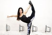 Simply Yoga / Inspiring yoga posters and styles images.
