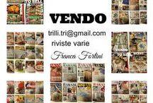 VENDO - SELL - VENDER - / Vendo riviste varie, maglia, ricamo..... - I sell various magazines, knitting, embroidery .....-