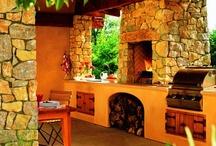 hornos de leña, asadores y fogatas
