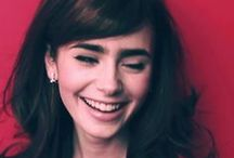 LILY COLLINS / I LOVE her brows :D