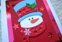 Christmas Cards DIY / Super and beautiful ideas for making your own personal Christmas cards this year!