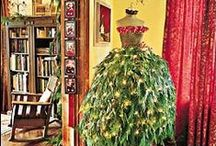Christmas Trees / Fabulous concepts for decorating your Christmas tree - and some unexpected creations that are delightful!