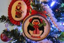 Christmas Cross Stitch / Patterns and pictures for Christmas Cross-Stitch