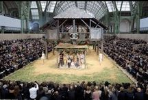 Chanel / We are fans of the incredibly detailed and elaborate sets of Karl Lagerfeld's Chanel shows...
