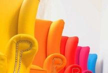 Mad about colour / Lots and lots of bright everything