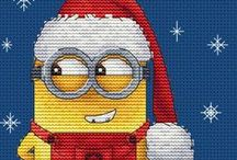 A Merry Minion Christmas / Soooo many craft ideas and inspirations for a Minion Christmas, gifts, or any festive gathering.  The kids - young and old - will love it!
