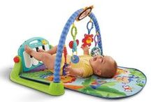 Newborn to Toddler Play Gym (Thảm nằm chơi cho bé) / For baby: newborn to 12 months Your children will love famous brand toys from Fisher Price, Baby Eisntein, Bright Star,...