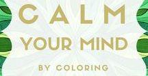 Coloring blog by Päivi Vesala / coloring tips, color palettes, coloring techniques, inspirational coloring, healing colors, color therapy
