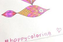 Happy colors / colorful, happy, joyful, colors, coloring