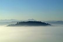Vistas desde el hotel / Increíbles vistas desde el mirador de nuestro hotel rural en Asturias, Spain Amazing views