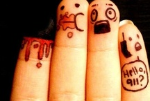 Finger Art LOL!!! / by Maria Peterson