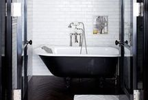 Rooms: Wash / Powder rooms, bathrooms, water closets, faucets, and ensuites.  / by Joel Harding