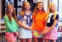 Whaley preppy / All things frat, lilly pulitzer, vv, southern tide, etc. / by Hannah Herrman