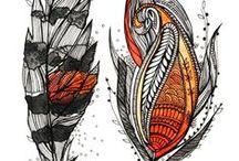 Zentangle, doodles and borders