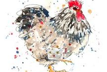 Chickens! / Loads of lovely Chicken pics - choose one for a card, personalise it and maybe choose Henpower as your charity!