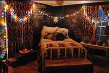Bedroom Inspiration / Might be moving into a new apartment and hence redoing my bedroom in less than a year. :)