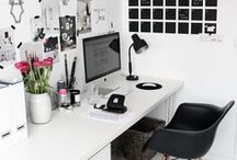 Work Space / Desk and workspace inspo
