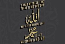 Islamic Collection 01 / Qur'anic verses, Sayings of Prophet (PBUH), And thoughts of Great minds.