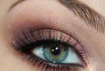 Макияж глаз в золотисто-коричневых тонах / Подборка для вдохновения.