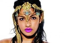 Bollywood bling / Beautiful bollywood jewellery and adornments.