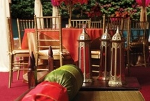 Bollywood style / Some great bollywood style ideas for home or entertaining.