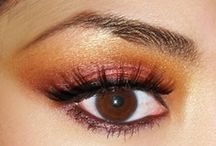 Bollywood hair & make-up / Colourful make-up and gorgeous hair-styles to complete your bollywood look.