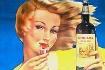 Vintage Cocktails Visualized- Liquor Posters / Our wine and spirit posters are some of our most iconic and dynamic. They are always a great fit for kitchens and entertaining spaces in your home! We've put a number of pieces from our collection together on this board, along with some inspired cocktail recipes from around Pinterest!  / by The Ross Art Group