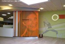 Wandgestaltung- Wandmalerei und Wandtattoos / Farbcompany entwickelt und realisiert individuelle Wandgestaltungen.