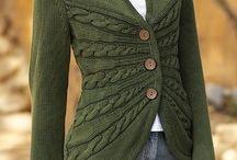 Strikkejakker og gensere