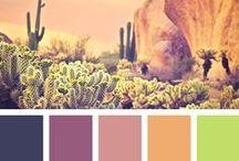 Colors / Inspiring colors palettes.