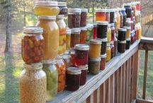 Canning, Love in a jar.  <3