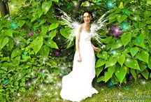 Bridal Photography in Syracuse New York by Mariana Roberts / Fairy Bride and Bridal Portraits in Syracuse New York. Goddesses and Photographic Art by Mariana Roberts Photography. Bride in the Forest. Goddess in the Enchanted Forest High Fashion Photography and Fantasy Art. High Fashion and Fantasy Photography Upstate New York and Syracuse New York. Beautiful Art Women Model Photography.