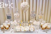 A&K Lolly Buffet {Silver Wedding Anniversart Dessert Table}