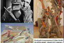 Les Mystères de la forêt / mes sculptures selon le texte de Max ERNST ( 1934 )